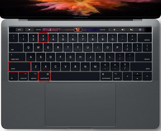 Chụp ảnh toàn màn hình máy tính macOS