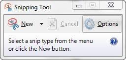 bước  2: Chụp ảnh màn hình bằng công cụ snipping tool