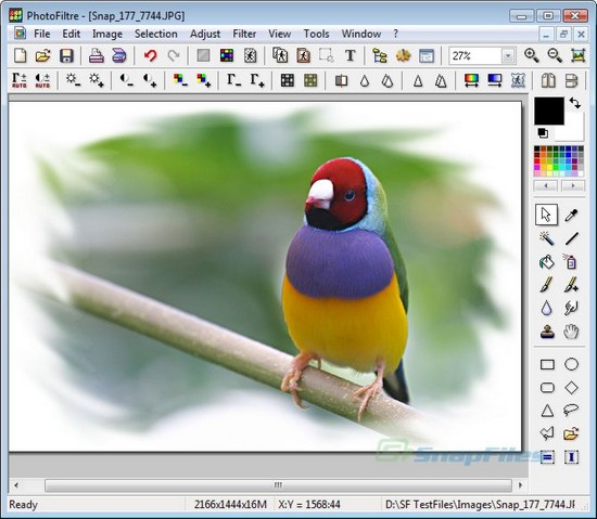 Phần mềm PhotoFiltre